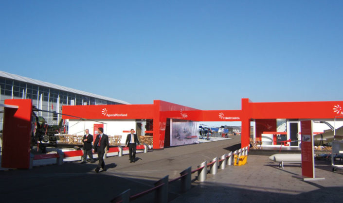 Chalet Finmeccanica @ Airshow, Londra.