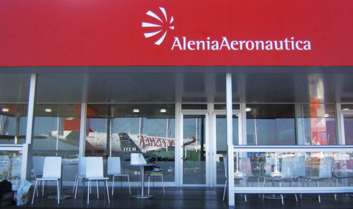 Chalet Finmeccanica @ Airshow, Londra.