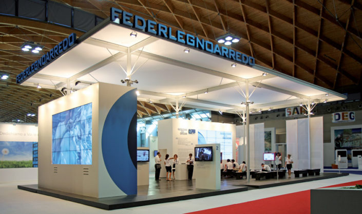 "Stand ""Federlegno"" @ Meeting"