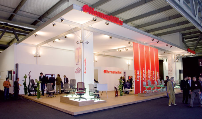 "Stand ""Herman Miller"" @ Salone del Mobile"