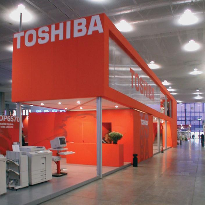 "Soppalco ""Toshiba"" @ Smau, Milano."